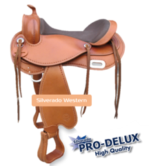 Silverado Treeless Western Saddle