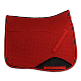 Kifra-pad Square Red COTTON_