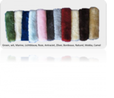 Saddle Pad Lambswool with Edges_
