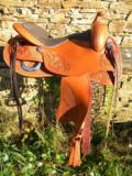 Freemax Western Cow Cognac Round_