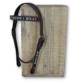 Kifra Western Headstall Beaded Sedona
