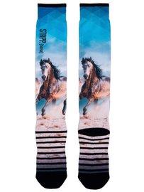 Stapp Horse Socks Print