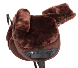 Barebackpad Sheepskin Pony Brown