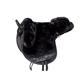 Barebackpad Sheepskin Pony Black