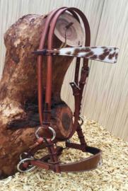 | Sidepull | Cowhide Chestnut
