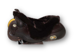 |SALE| Seatsaver Western With Horn Brown
