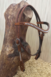 Western Headstall Crystal | 2 colors |