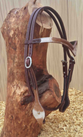 Headstall V-Brow Cow | 2 colors |