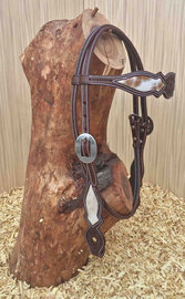 Headstall Scalloped Cow | 3 colors |