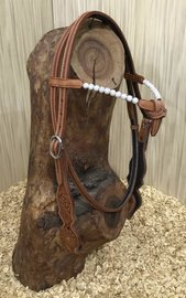 Headstall V-Brow Crystal Balls | 5 colors |