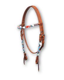 Western Headstall Beaded Indian
