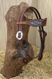 Western Headstall Browband Beads | 2 colors |