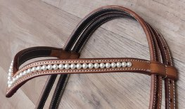 Browband V-Brow Swarovski Pearls XL | 4 colors |