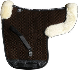 Saddle Pad Lambswool with Edges