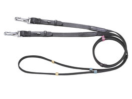 Reins dressage color with clips