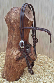 Headstall Westcoast Brown