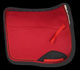 Kifra-pad Square Red