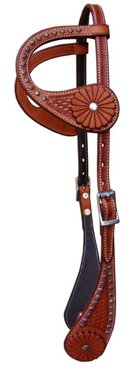 Show Headstall Curved